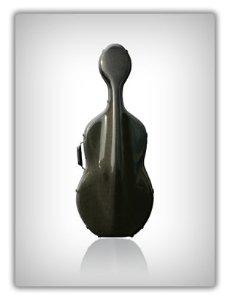 Musilia M5 Universal Black Cello Case